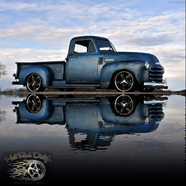1952 Chevrolet C 10 Patina Shop Truck Hot Rod Lowered Pro Touring