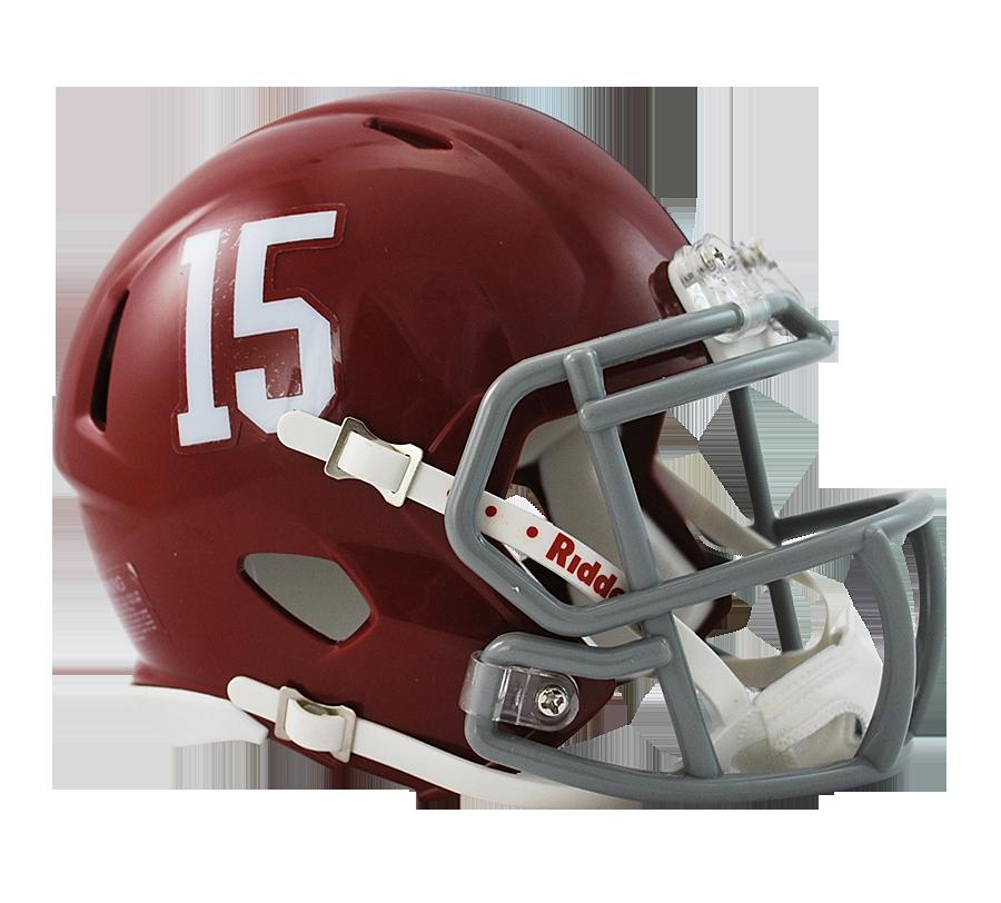 Alabama Crimson Tide 15 Riddell Mini Speed Helmet By Riddell Game Day Treasures Mini Football Helmet Football Helmets Mini Footballs