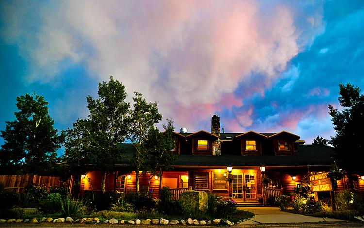 Estes Park Wedding Venue - Wild Basin Lodge Wedding Venue Exterior