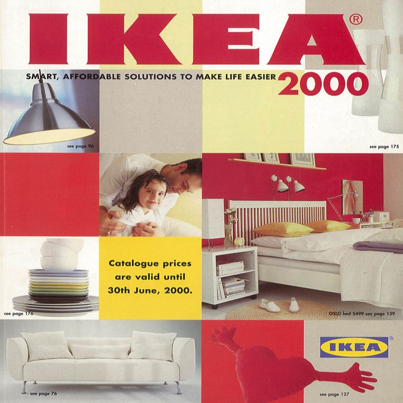 A new millennium with the 2000 IKEA Catalogue  | Bedroom