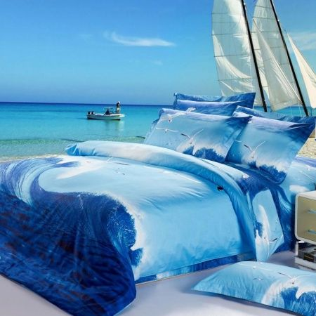 Cape May Sky Blue Coastal Comforter Bedding By Croscill Comforter Sets King Comforter Sets Home