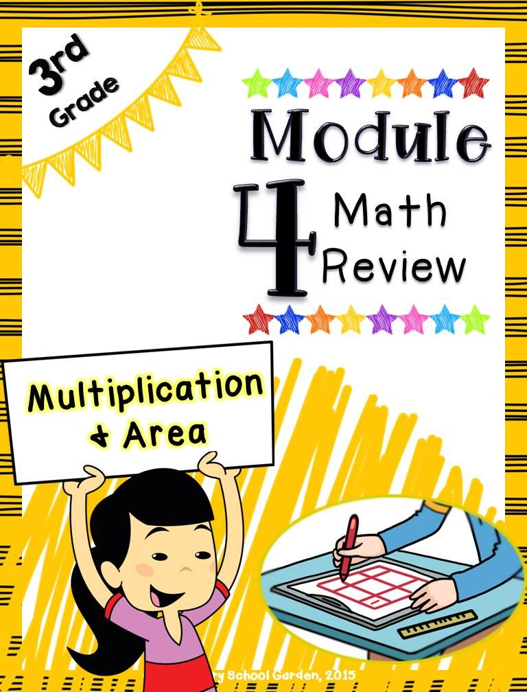 Engage Ny 3rd Grade Math Module 4 Review Multiplication Area