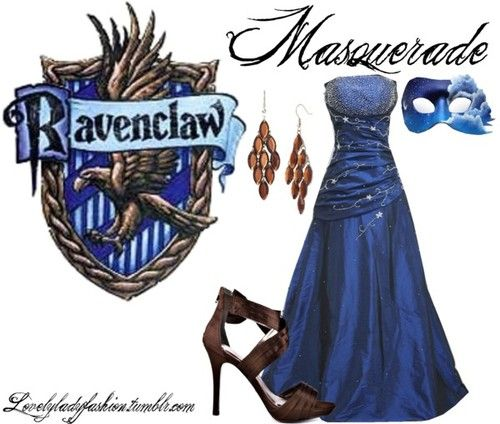 I like the dress and the mask. I would love to do a masquerade ball. It'd be interesting!