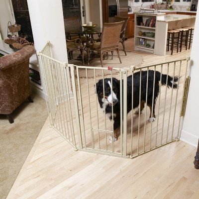 Flexi Gate Walk Through Gate With Pet Door Model 1510pw 76w X 30 5h In You Can Get Additional Details At Tall Pet Gate Extra Tall Pet Gate Dog Gate