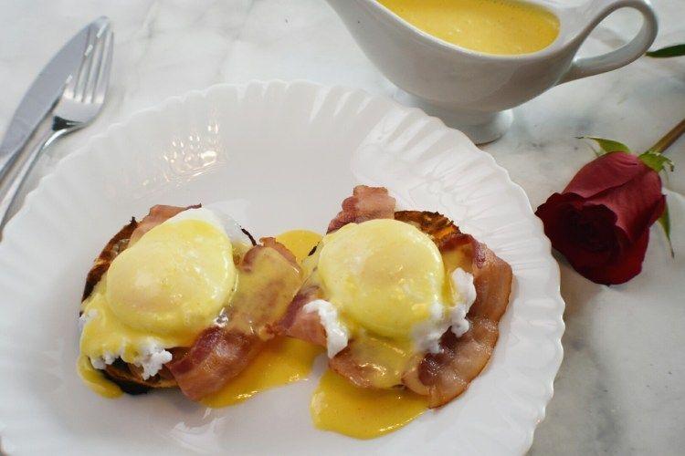Eggs Benedict w/ Stephanie's Special Hollandaise Sauce #hollandaisesauce Eggs Benedict w/ Stephanie's Special Hollandaise Sauce - Healthy Wholesome Homemade #hollandaisesauce