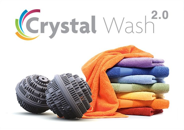 Crystal Wash 2 0 Detergent Free Laundry Washing Clothes