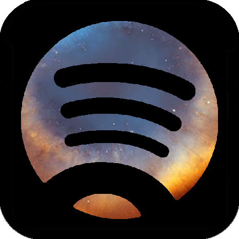 Aesthetic Spotify Logo Purple | aesthetic guides