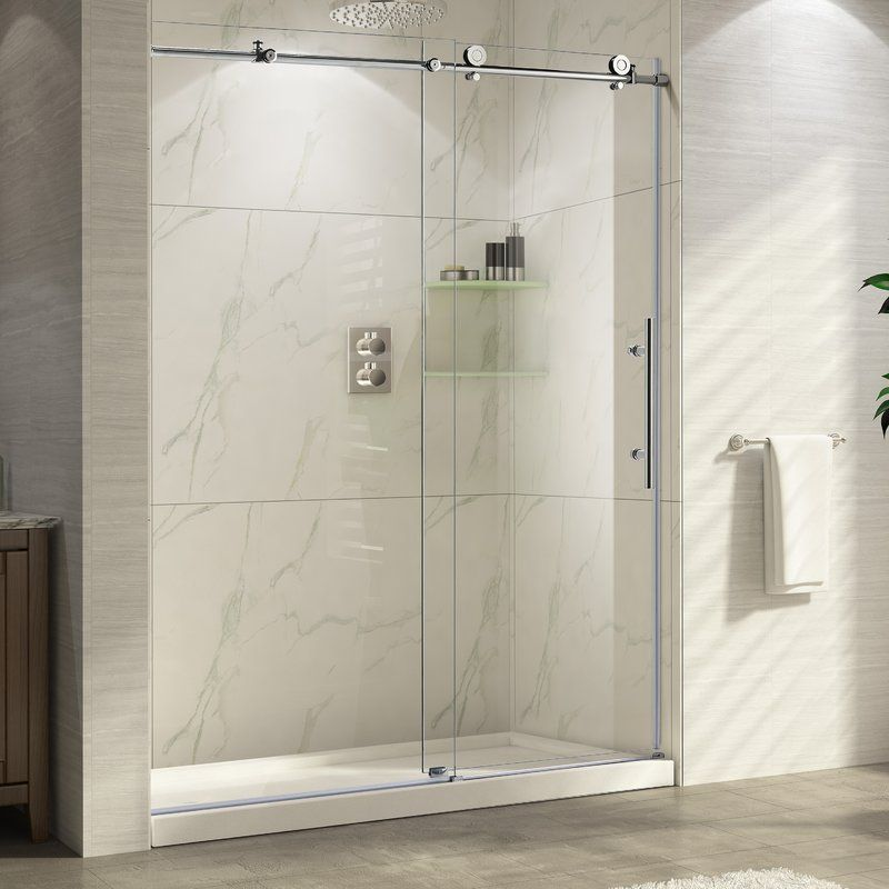 Wet Republic Trident 48 X 76 Single Sliding Frameless
