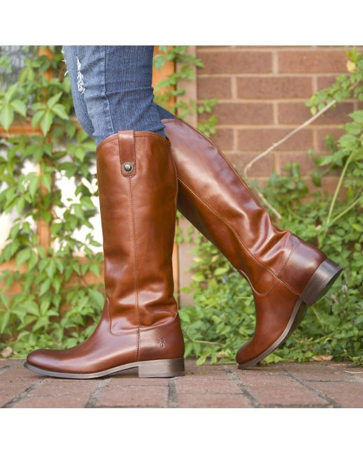 ec4aba637ea9 I want these ----  Frye Women s Melissa Button Boot - Cognac ...