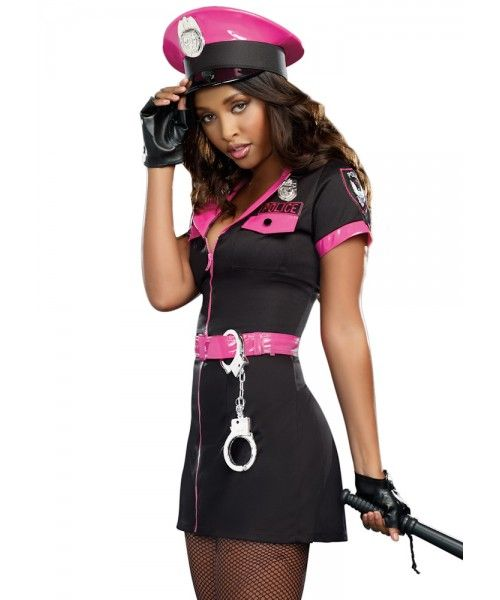 db452f64e568a Pink Officer Costume & Image Is Loading Ann-Summers-POLICE-OFFICER ...