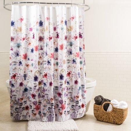 Splash Home Vera 70 Inch X 72 Inch Polyester Fabric Multi Colors