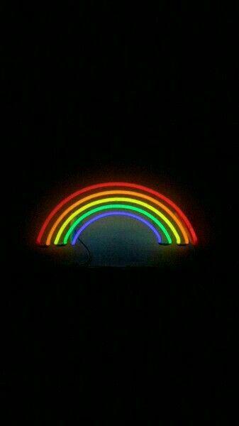 """Inhale love, exhale peace"" | Rainbow wallpaper iphone ..."