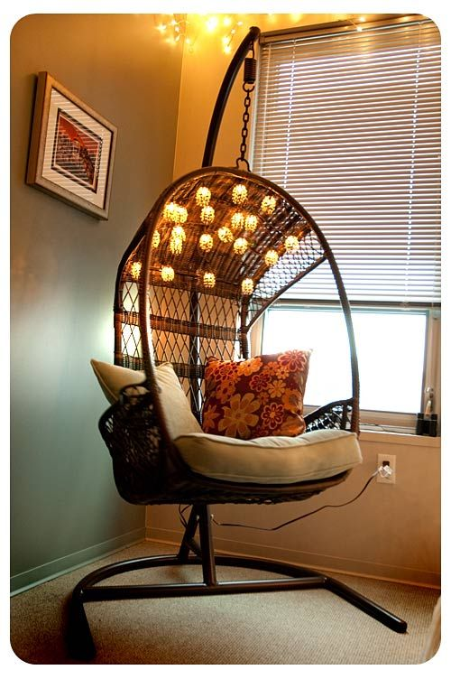 swingasan hanging chair high back swivel rocker patio chairs at pier 1 imports i don t know where would put this but love it my style fashion pinterest house home and bedroom