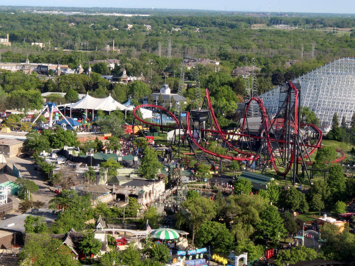 I Visited Six Flags Great America Multiple Times Over This Past Memorial Day Weekend My Priority Of Course Was Riding The Ne Great America America Six Flags