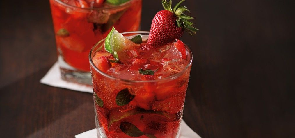 CPK Strawberry Mojito Happy Hour Summer Style Pinterest