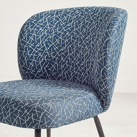 Enjoyable Greer Upholstered Dining Chair Blue Line Toss In 2019 Machost Co Dining Chair Design Ideas Machostcouk