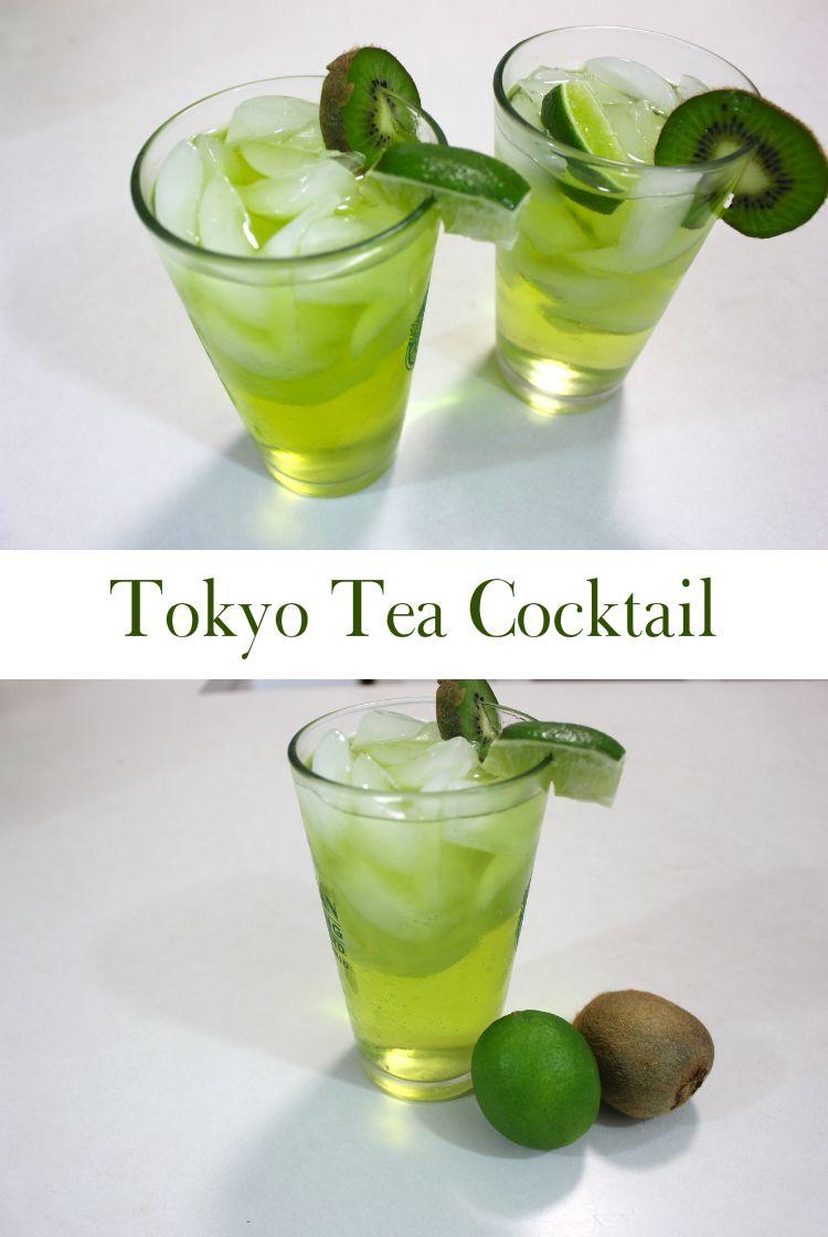 Tokyo Iced Tea Cocktail Recipe Mixed Drinks Tea Cocktail Recipes Tokyo Tea Cocktail Recipe Iced Tea Cocktails