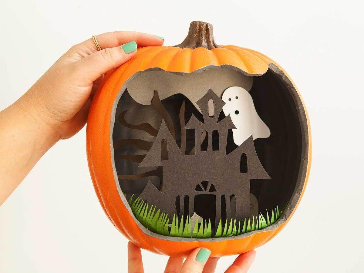 DIY Paper Pumpkin Decorating Ideas by Fiskars