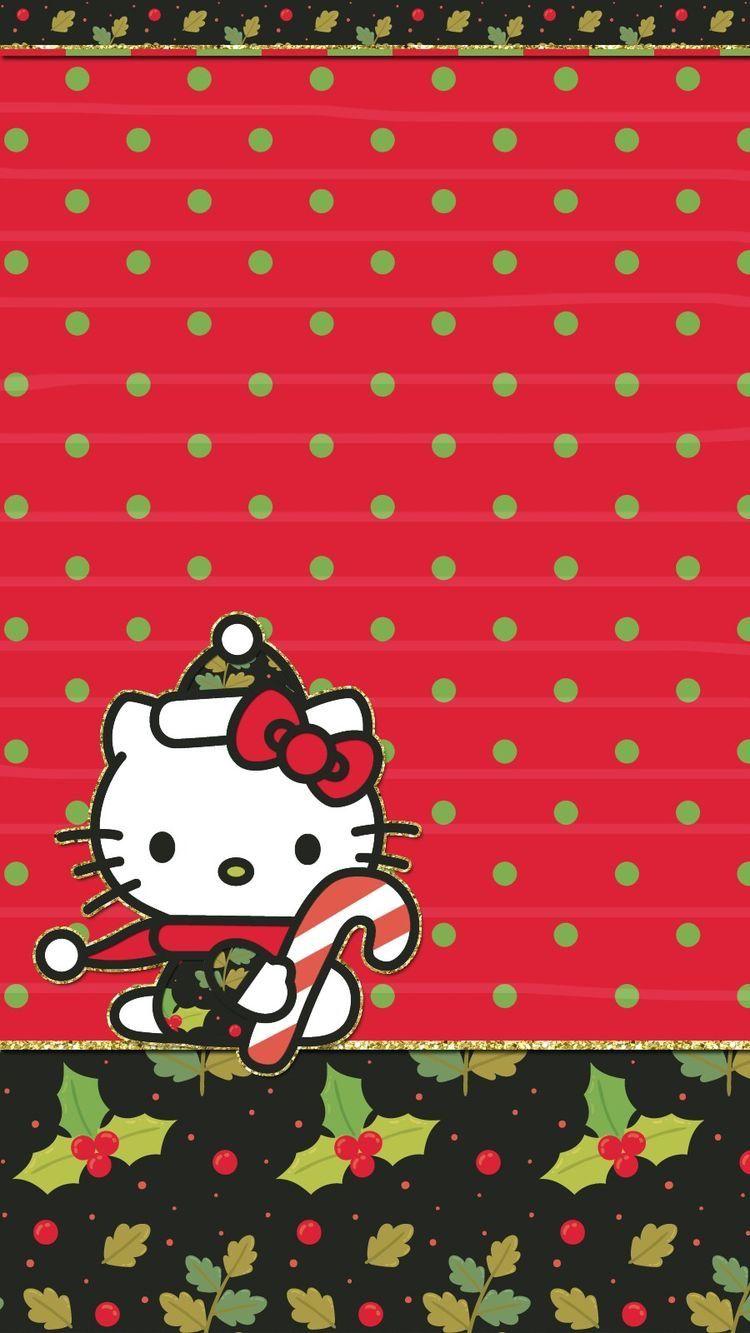 Christmas Hello Kitty Christmas Hello Kitty Iphone Wallpaper Hello Kitty Wallpaper