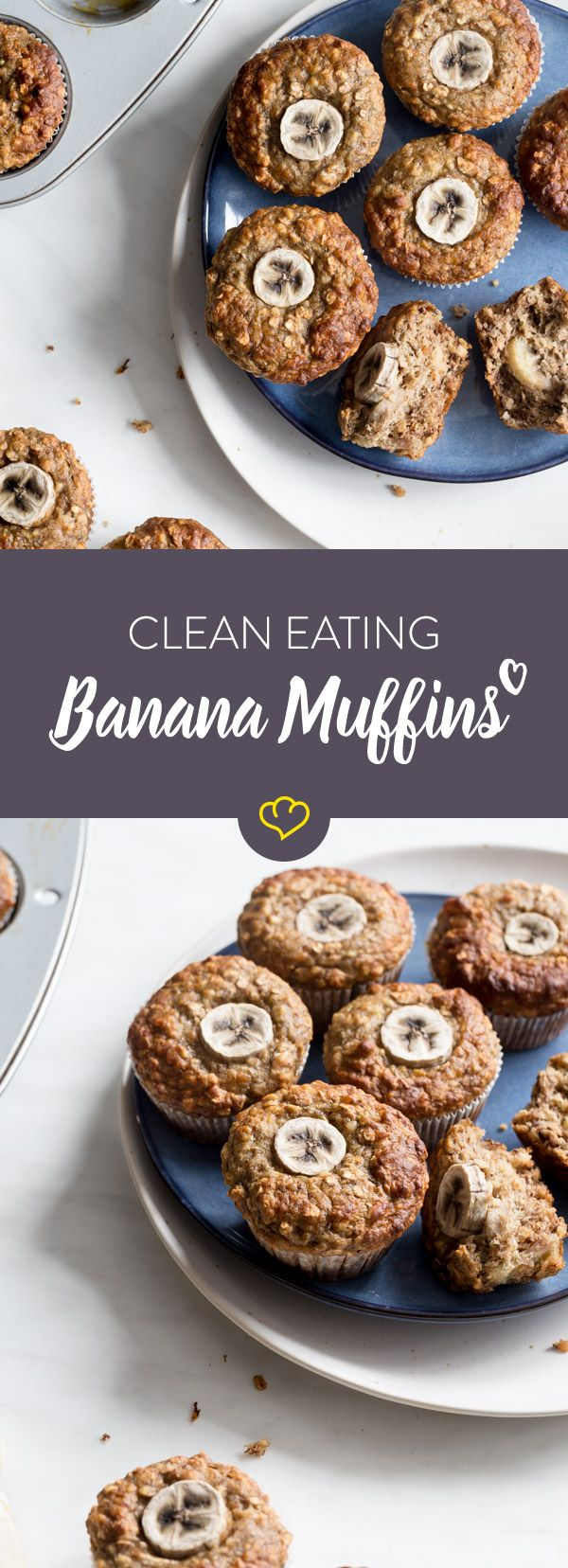 Cleane Bananen-Muffins: Back's dir sauber, back's dir schnell – Carey&CleanEatingS