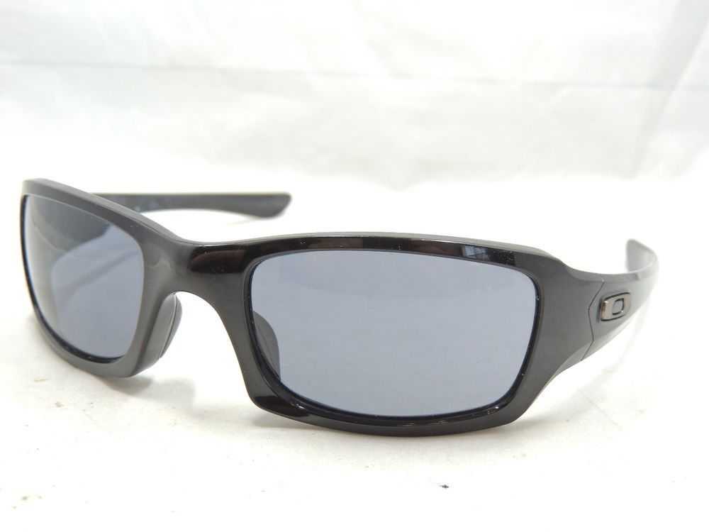 853721cb4f9 Oakley Fives (41)2 9238 04 Black Sunglasses  375 Scratched Lenses (eBay  Link)