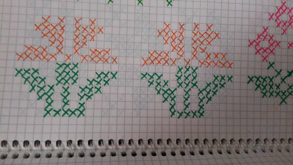 Pin by fatma on işleme | Pinterest | Cross stitch, Stitch and ...