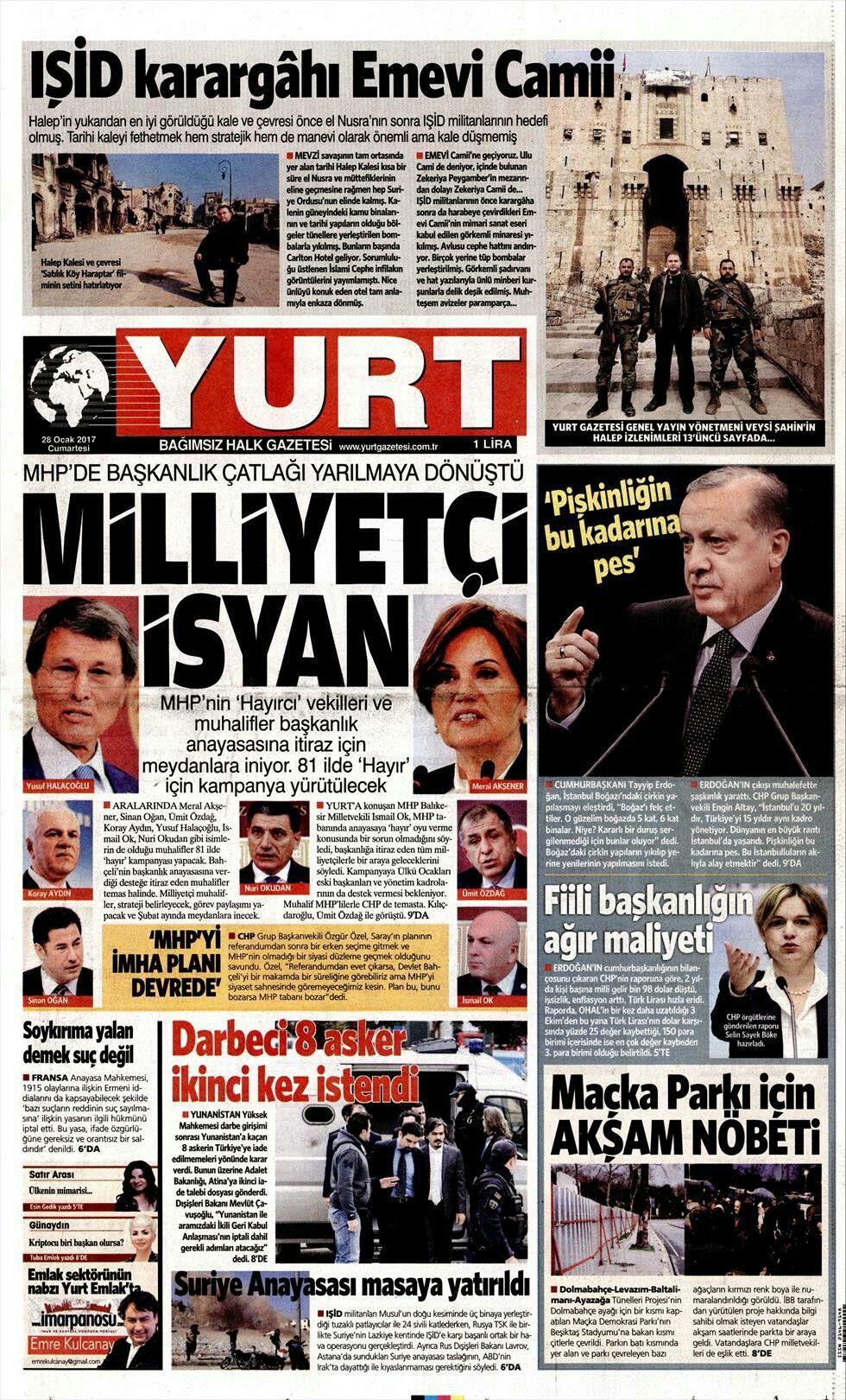 Mustafa Zeki öd Adlı Kullanıcının Yurt Gazetesi Panosundaki Pin