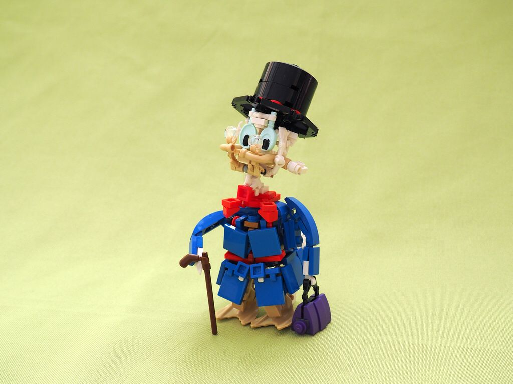 Scrooge McDuck   LEGO® Figures   Lego disney, Lego figures, Scrooge