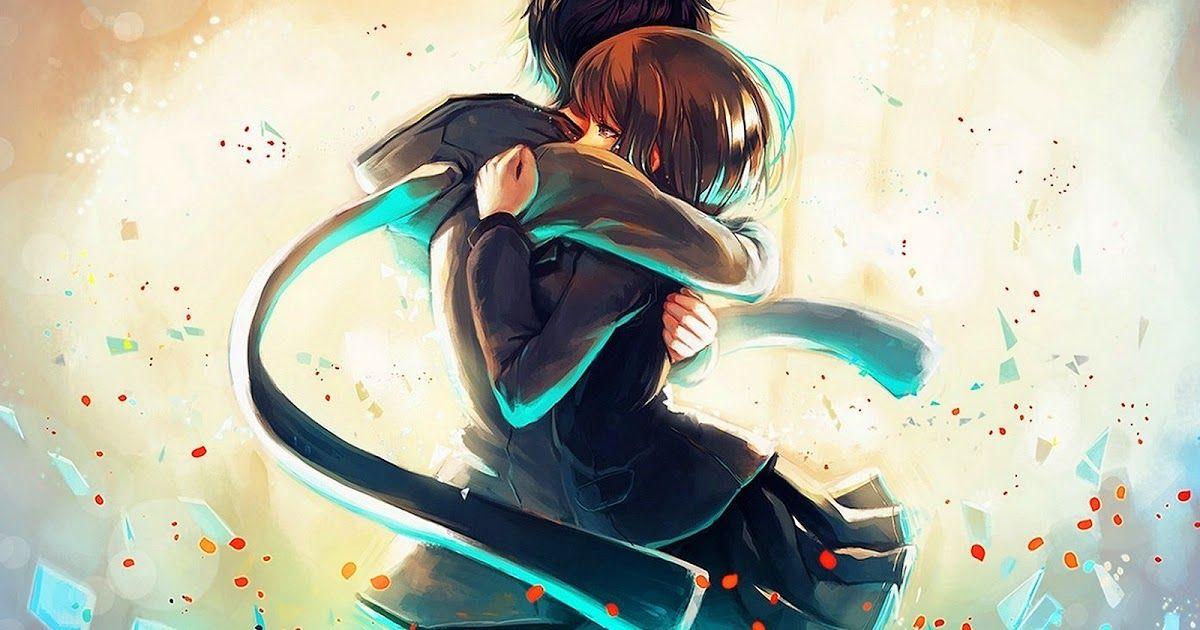 Wallpapers Hd Anime Love Anime Hug Romantic Anime Hd Anime Wallpapers
