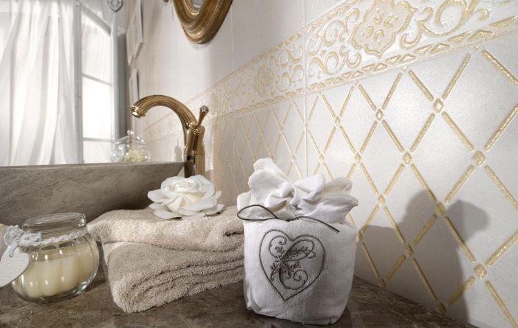 Shabby Chic Badezimmer mit ausgewählten Accessoires dekorieren ...