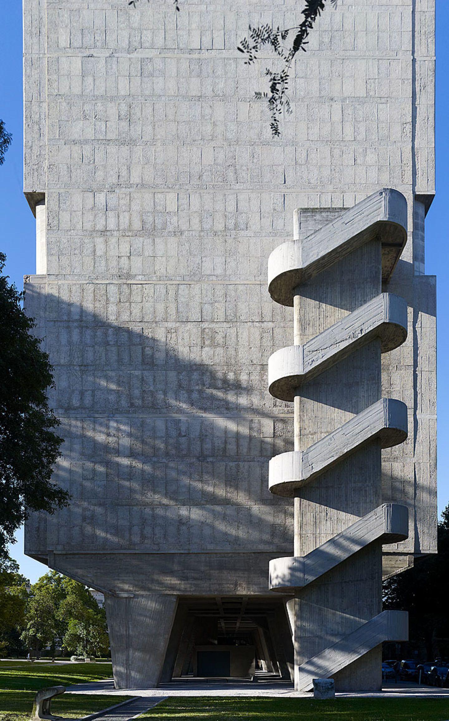 Le Corbusier Unite D Habitation pin on le corbusier