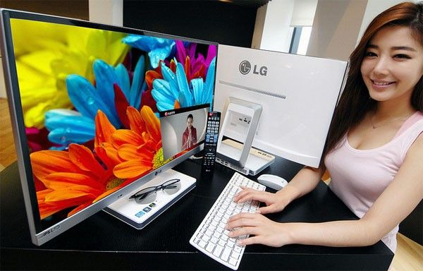 Lg S 27 Inch V720 All In One Pcs Pop Up On Flickr Ips And