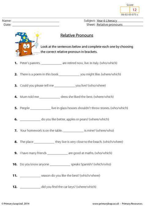 relative pronouns worksheet learning strategies pronoun worksheets. Black Bedroom Furniture Sets. Home Design Ideas