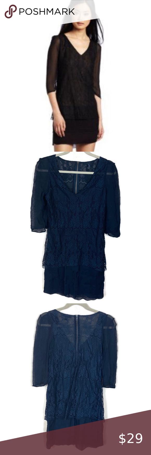 Joe S Jeans Dress Black Lace Sheer Minidress Jeans Dress Lace Dress Black Black Dress [ 1740 x 580 Pixel ]