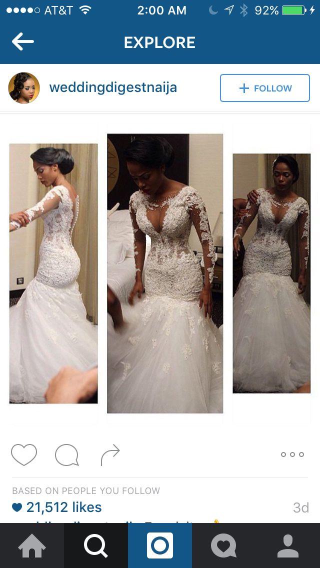 pinterest: @ Vontique Jackson | Wedding dresses, Lace ...