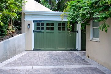 Out Swing Carriage Garage Doors   Traditional   Garage And Shed   San  Francisco   Castle Rock Construction