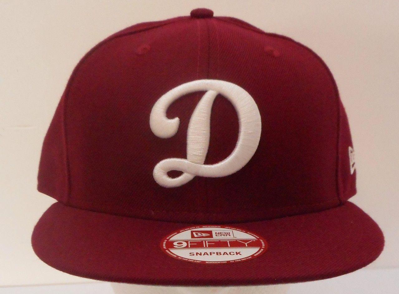 online retailer bf461 2065c Los Angeles LA Dodgers New Era Maroon w White D Snapback 950 -  allaccesssports365.com