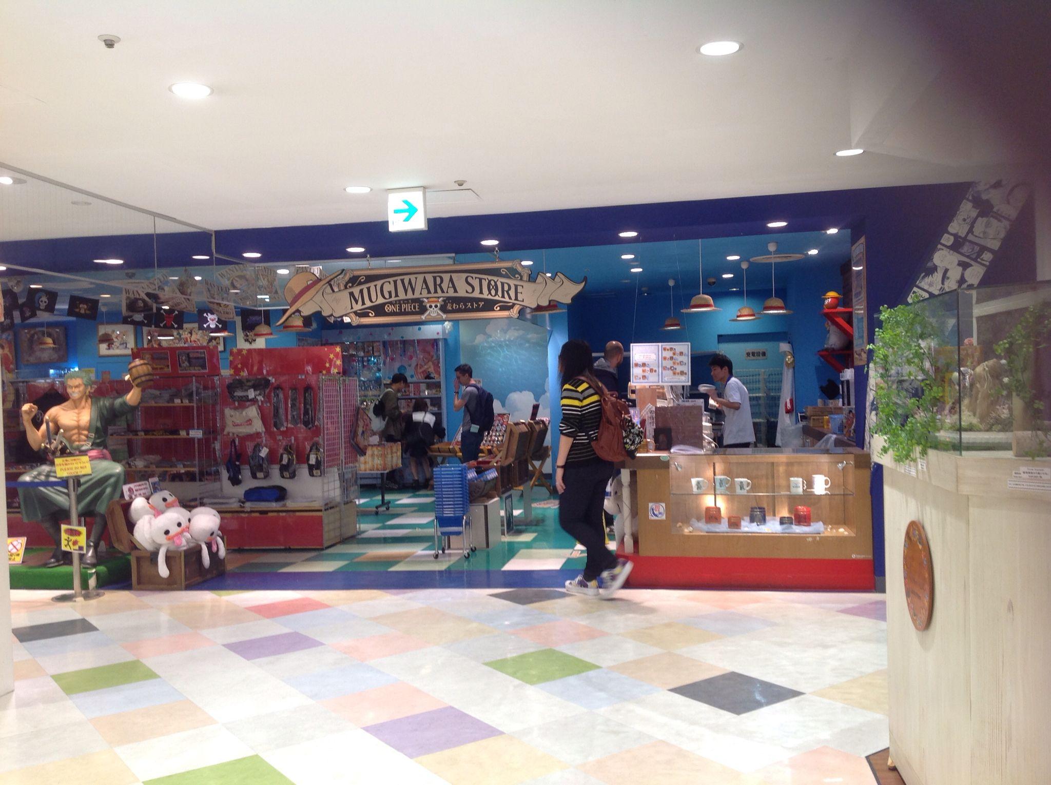 One Piece Mugiwara Store, Shibuya Parco, building 1, Tokyo