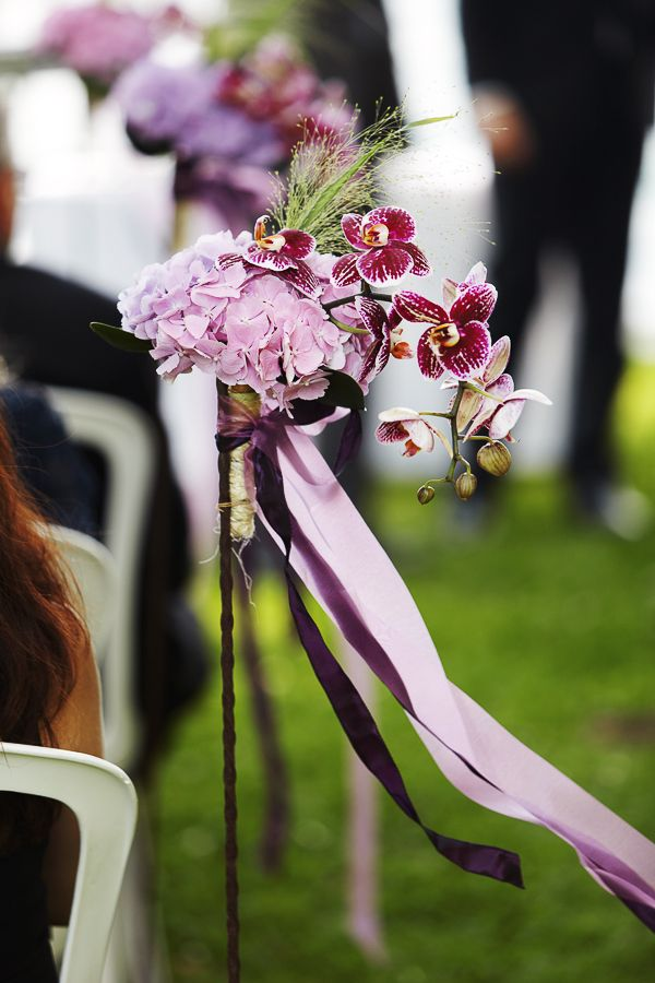 wedding ceremony freie trauung schmuck blumen orchidee. Black Bedroom Furniture Sets. Home Design Ideas