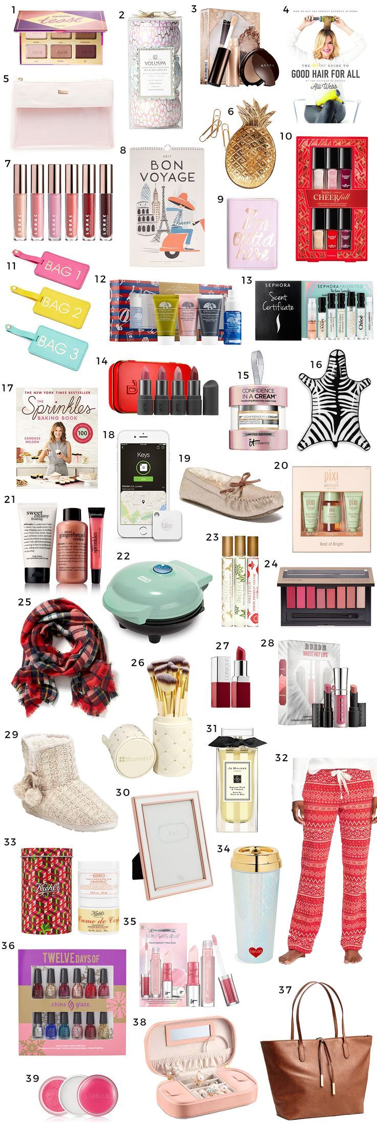 The Best Christmas Gift Ideas For Women Under 25 2016 Ultimate Guide By Florida Beauty And Fashion Blogger Ashley Brooke Nicholas
