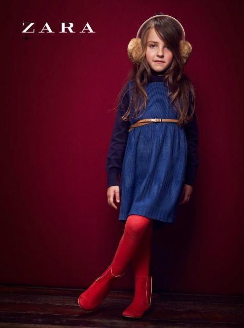 53e0fb96 Zara Kids Autumn/Winter 2011/2012 Campaign | Reagan and Naomi's Fall ...