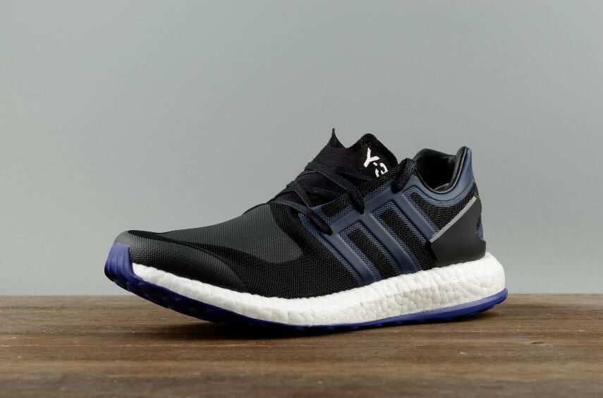 sale retailer 5b467 ee561 Adidas Y3 Pure BOOST BY8956 Black Blue Shoes2