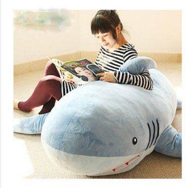Amazon.com: 67\'\'giant Huge Big Shark Stuffed Animal Plush Soft Toy ...