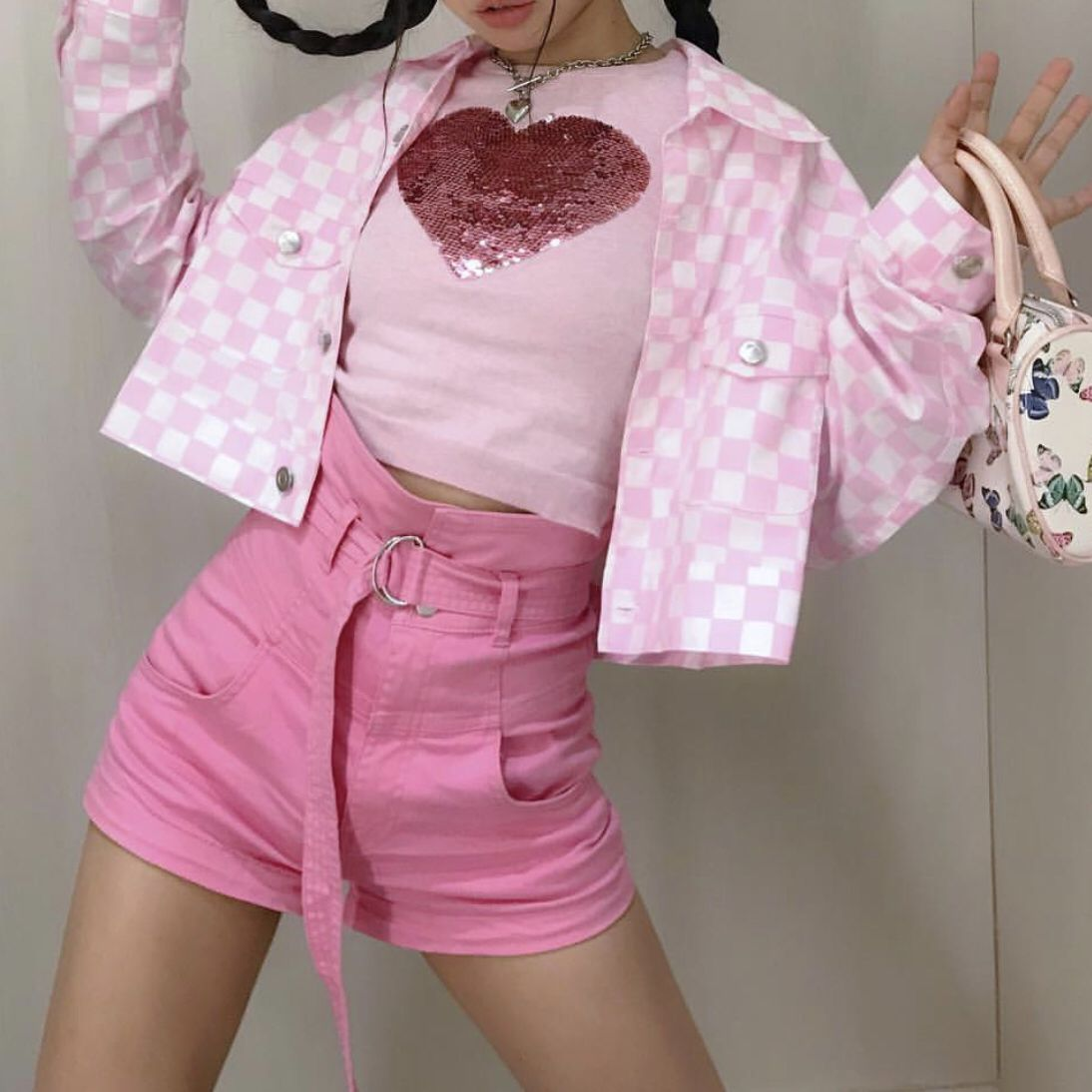 Cute Pink Aesthetic Outfits