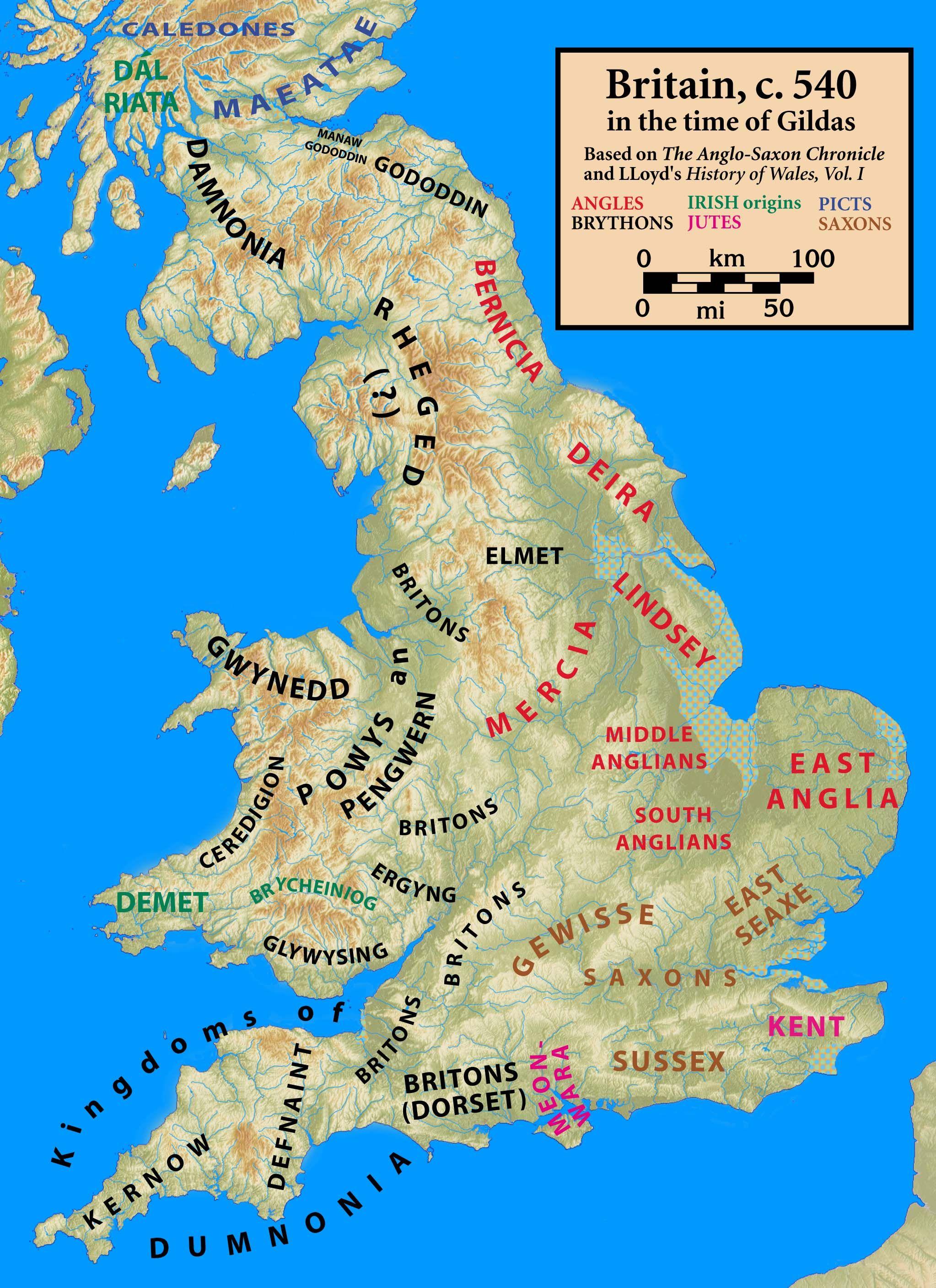 Dark Age History Reconstructing late sixth century British