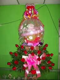Resultado de imagen para arreglo de rosas rosadas