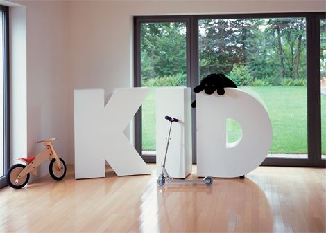 Over-Sized Letters Furniture | Furniture | Home