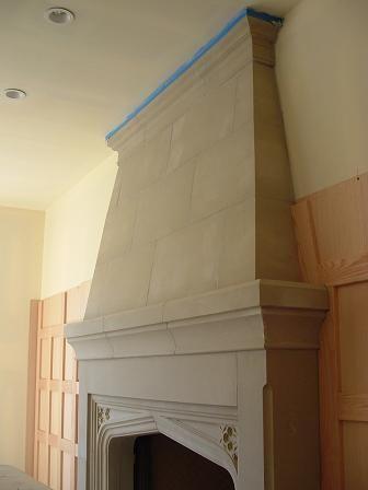 fireplace surround - Moderner Kamin Umgibt Kaminsimse