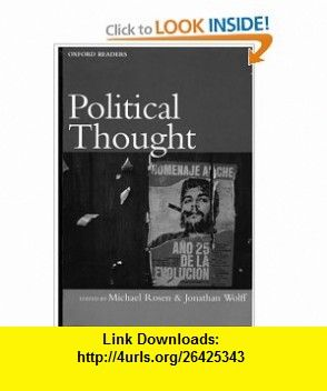 michael rosen and jonathan wolff political thought pdf