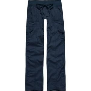 Womens Navy Blue Cargo Pants | Gpant